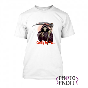 Тениска с печат - Coming for you