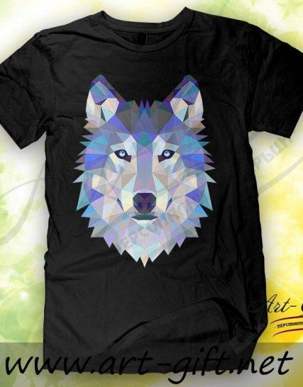Тениска с щампа - Вълк 1