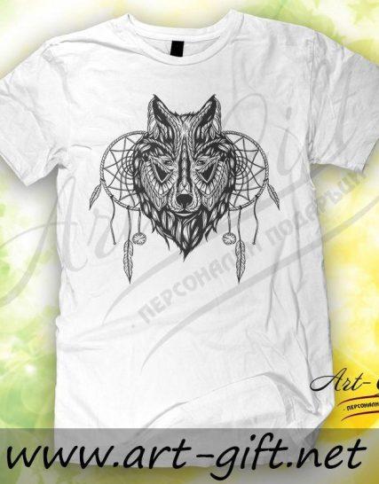 Тениска с щампа - Вълк