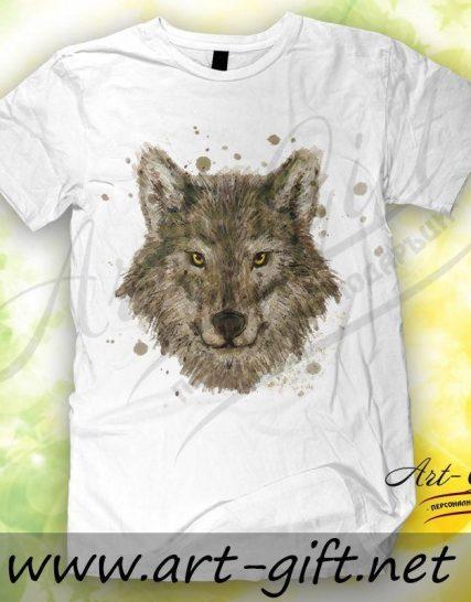 Тениска с щампа - Вълк 3