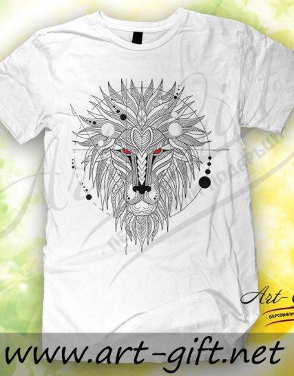 Тениска с щампа - Лъв 2