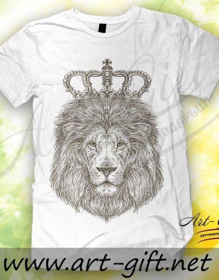 Тениска с щампа - Лъв 3