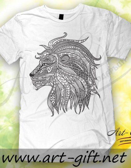 Тениска с щампа - Лъв 4