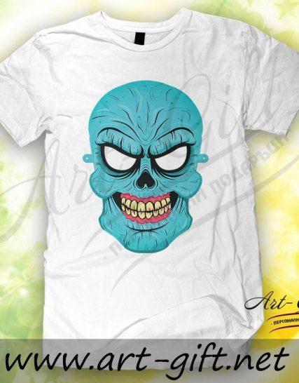 Тениска с щампа - Зомбита