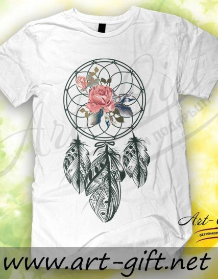 Тениска с щампа - Ловец на сънища 2