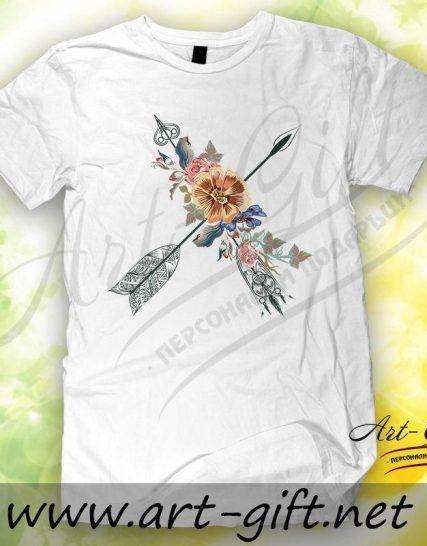 Тениска с щампа - Ловец на сънища 3