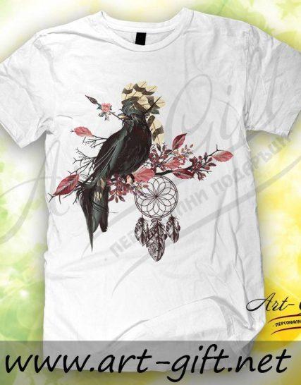 Тениска с щампа - Ловец на сънища 5