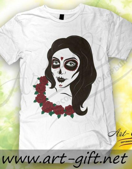 Тениска с щампа - Зомби 3