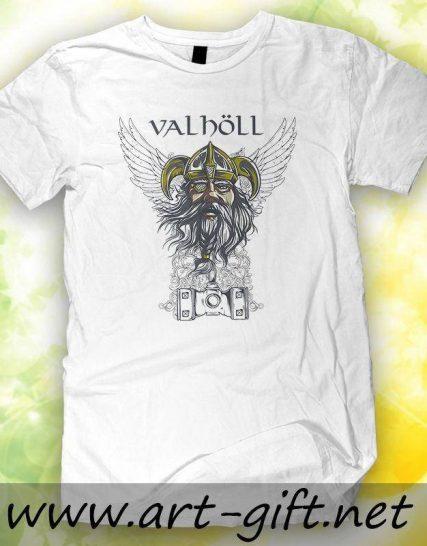 Тениска с щампа - Valholl