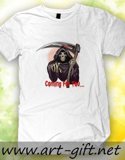 Тениска с щампа - Coming for you...