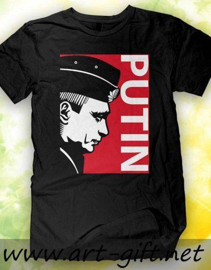 Тениска с щампа - Путин