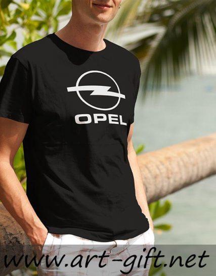 Тениска с щампа - Opel