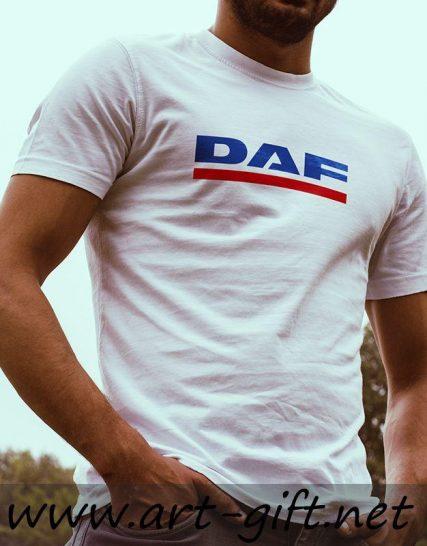 Тениска с щампа - DAF