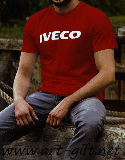 Тениска с щампа - Iveco