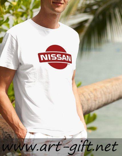 Тениска с щампа - Nisan