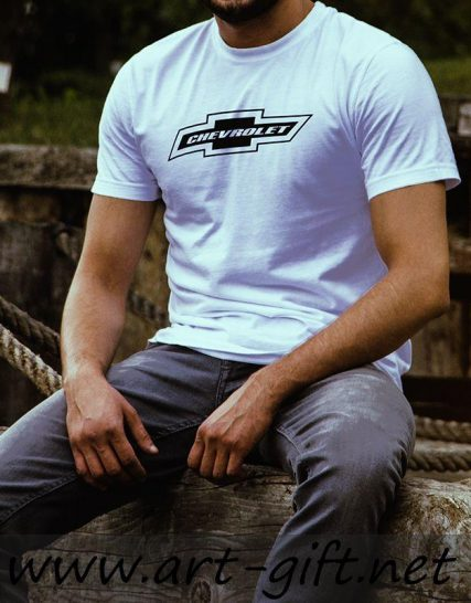 Тениска с щампа - Chevrolet