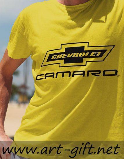 Тениска с щампа - Chevrolet Camaro