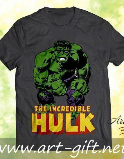 Тениска с щампа - Hulk 1