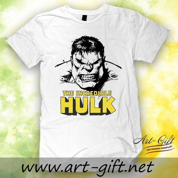 Тениска с щампа - Hulk 2