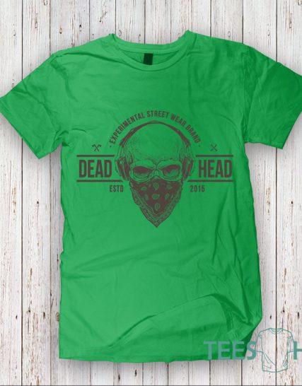 Тениска с щампа - Череп 10