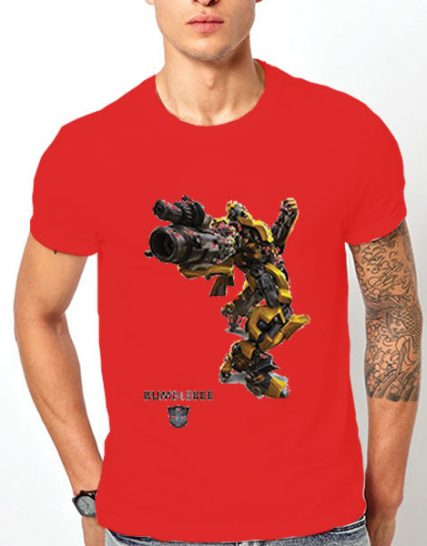 Тениска с щампа - Bumblebee 4