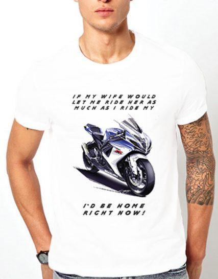 Тениска с щампа - Мотор