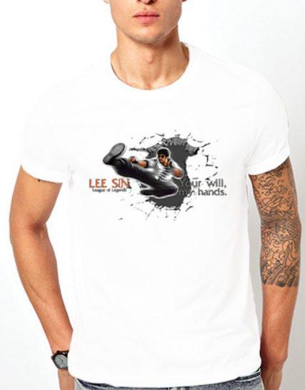 Тениска с щампа - Lee