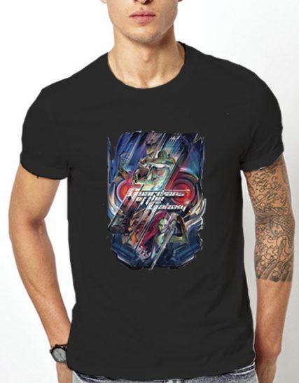 Тениска с щампа - Guardians of the Galaxy 1