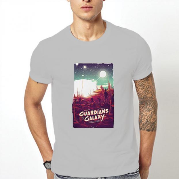 Тениска с щампа - Guardians of the Galaxy 3