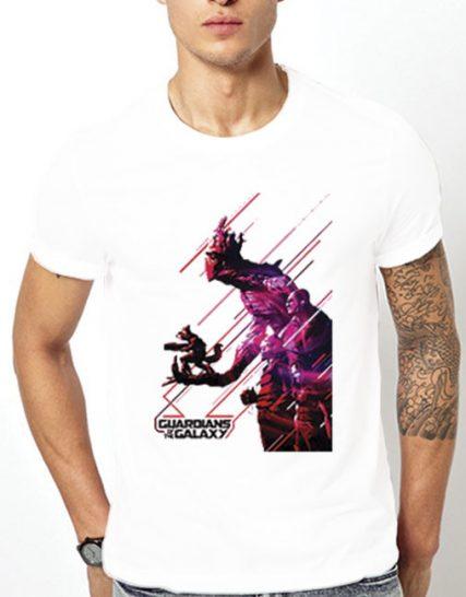 Тениска с щампа - Guardians of the Galaxy 4