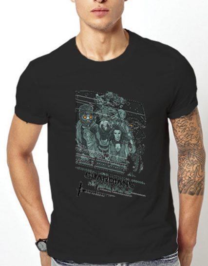 Тениска с щампа - Guardians of the Galaxy 5
