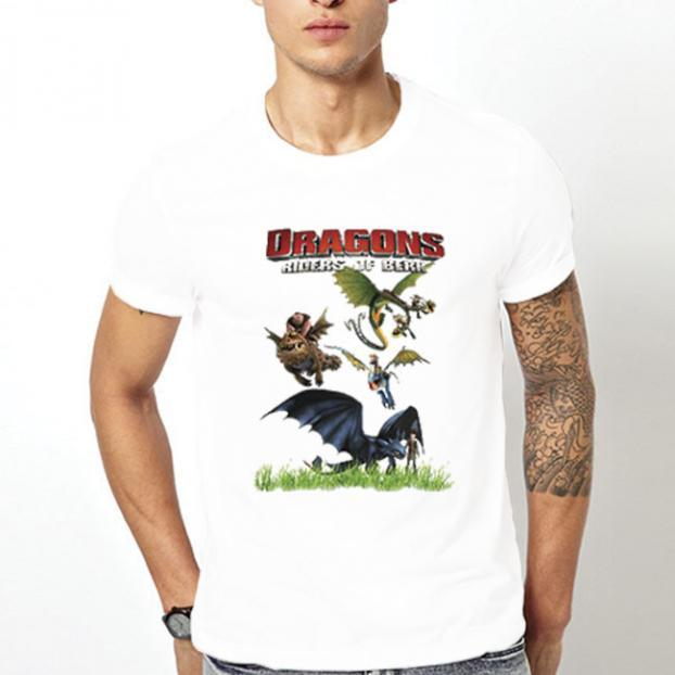 Тениска с щампа - Dragons