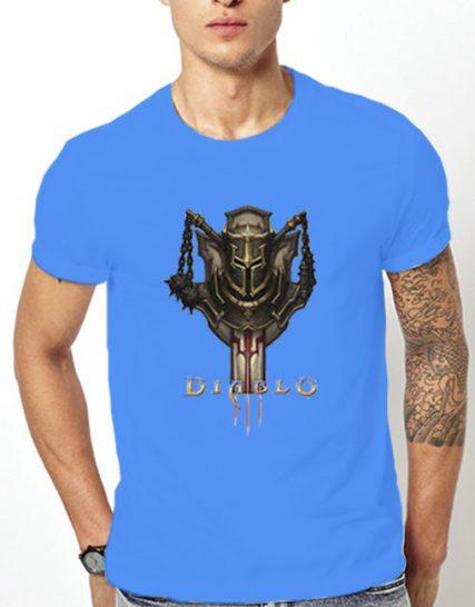 Тениска с щампа - Diablo 3