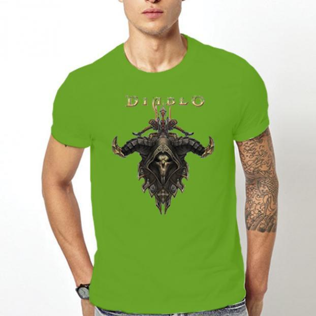 Тениска с щампа - Diablo 4