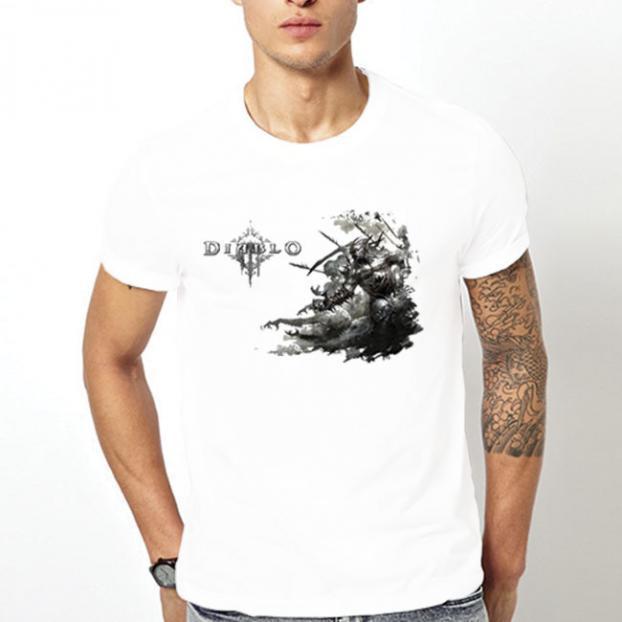 Тениска с щампа - Diablo 6