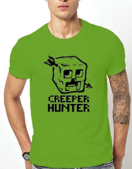 Тениска с щампа - Creeper Hunter