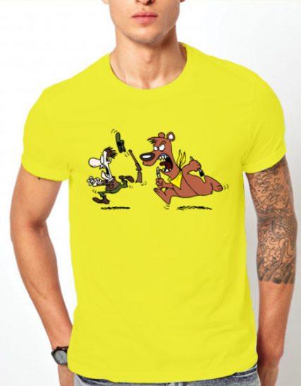 Тениска с щампа - На лов