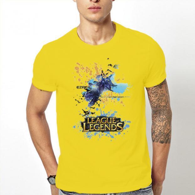 Тениска с щампа - League of Legends