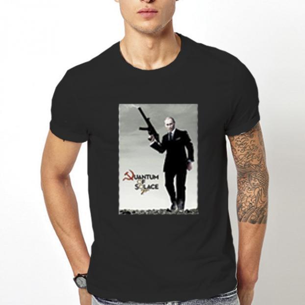 Тениска с щампа - Agent 007