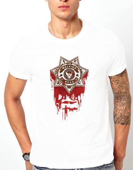 Тениска с щампа - The Walking Dead 1