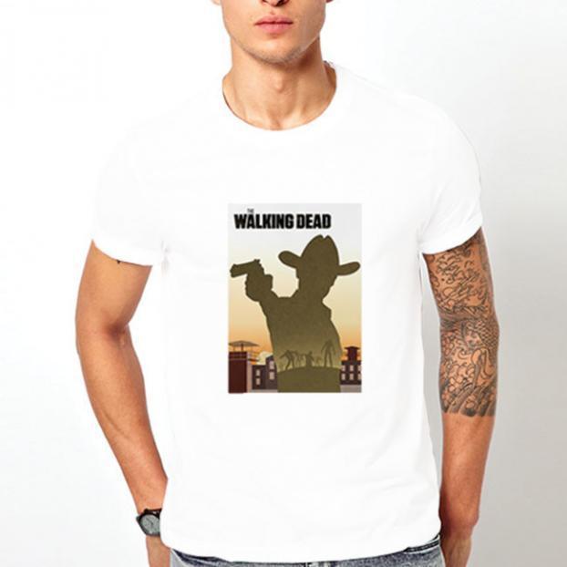 Тениска с щампа - The Walking Dead 2