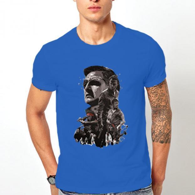 Тениска с щампа - The Walking Dead 3