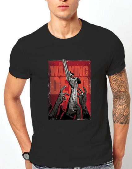 Тениска с щампа - The Walking Dead 4