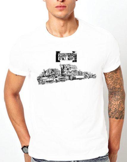 Тениска с щампа - Transformers Autobots