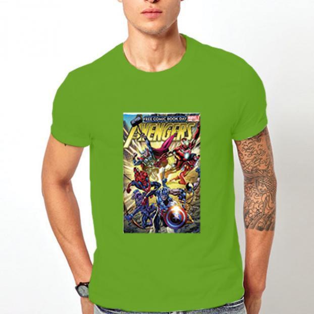 Тениска с щампа - Avengers