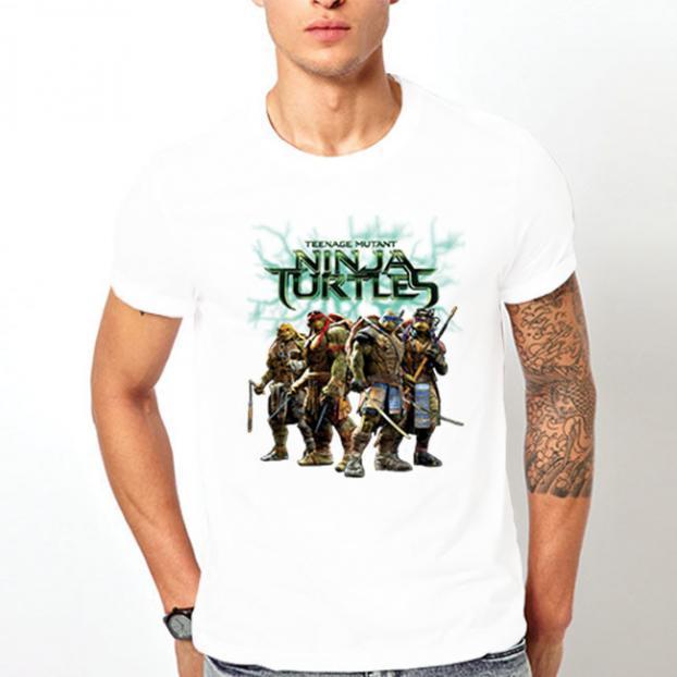 Тениска с щампа - Ninja Turtles