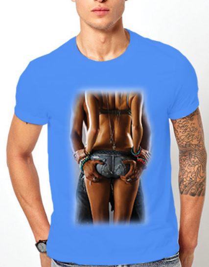 Тениска с щампа - Passion