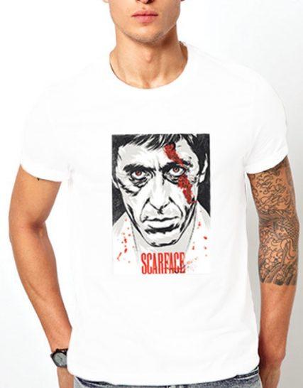 Тениска с щампа - Scarface