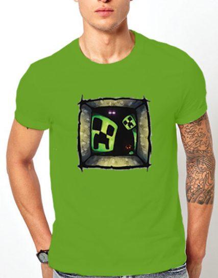 Тениска с щампа - Minecraft 2
