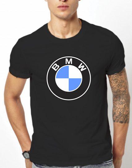 Тениска с щампа - BMW
